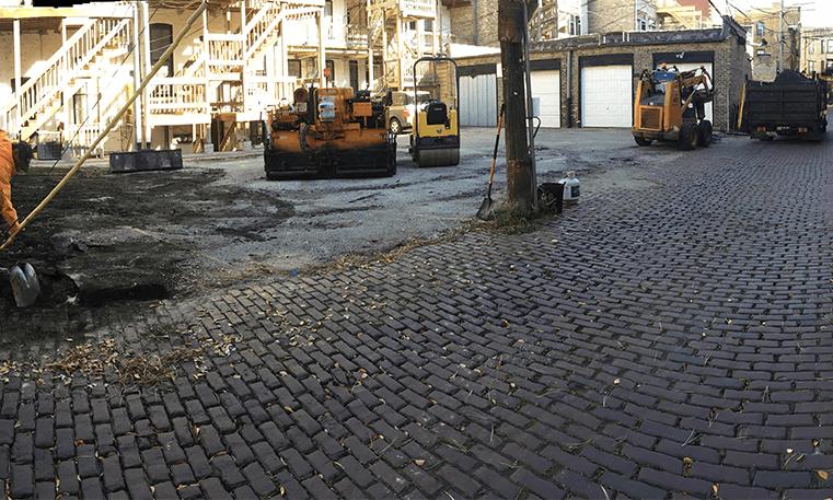 asphalt overlay construction