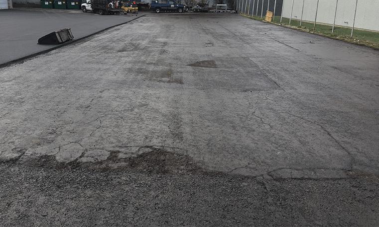 replacing asphalt