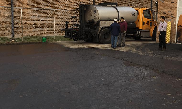 repairing asphalt