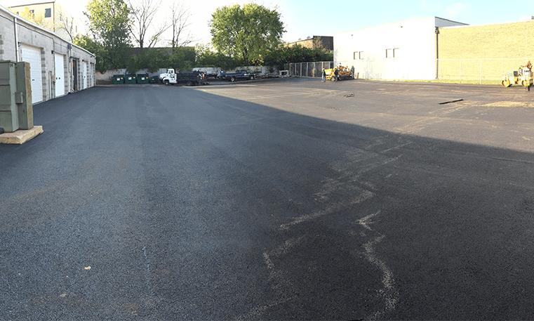 replaced asphalt