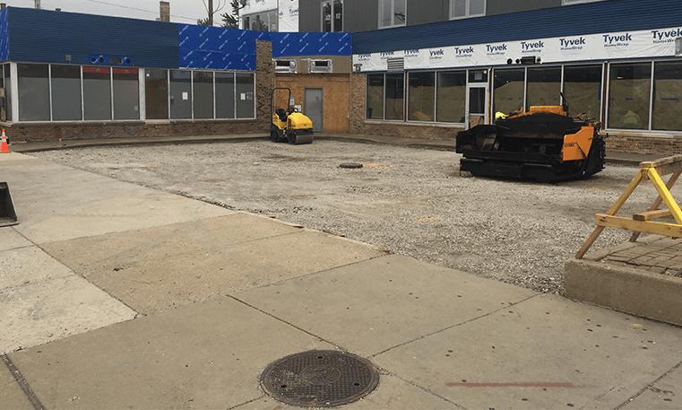 chicago asphalt removed