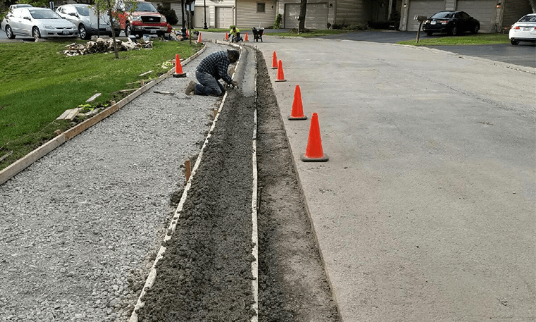 curb construction